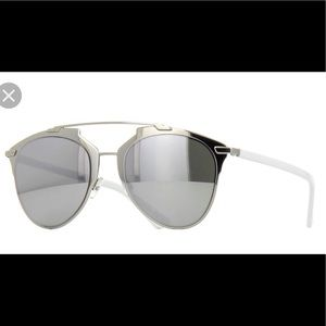 Dior Reflected Silver Sunglasses— 52mm